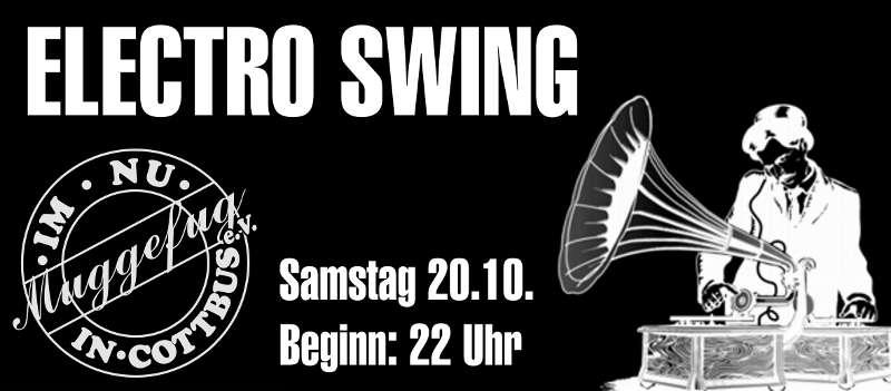 Veranstaltungsgrafik Electro-Swing