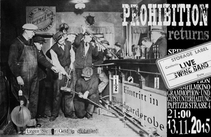 13.11.2015 - Prohibition Returns