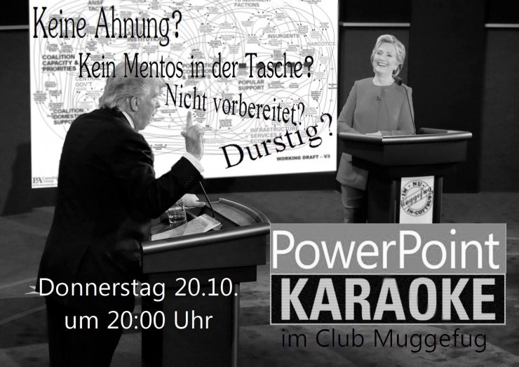 Powerpoint Karaoke 7 - Flyer