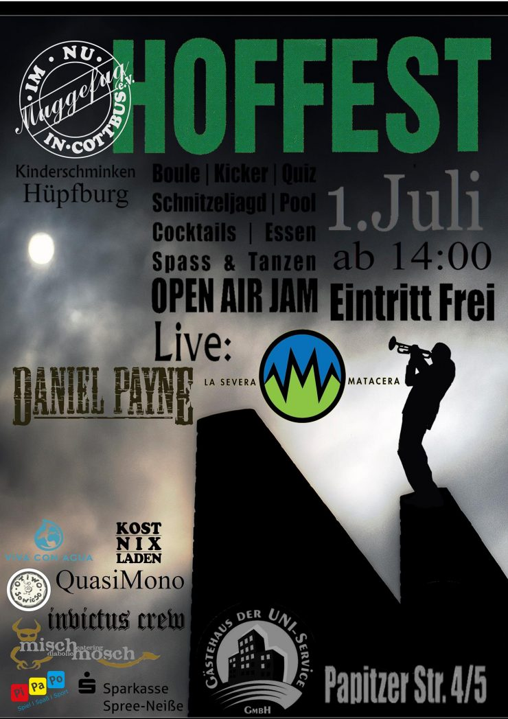 Hoffest 2017 Flyer