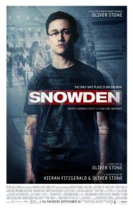 Snowden Filmplakat
