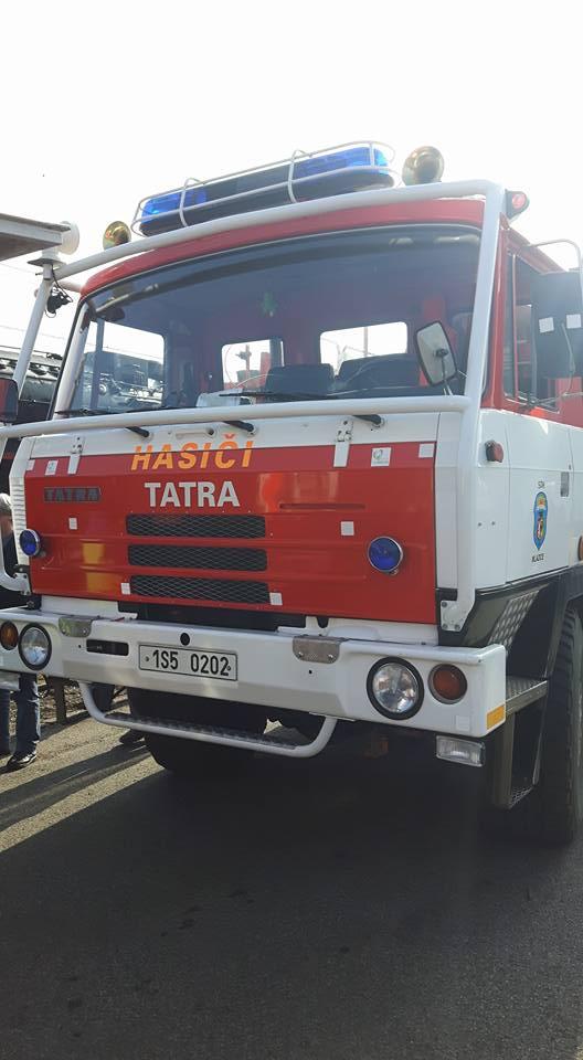 Aufnahme eines Feuerwehrfahrzeuges